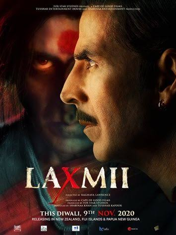 Laxmii (2020) Hindi Movie 720p HDRip x264 1.2GB Download