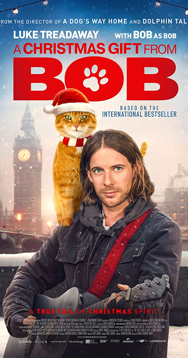 A Christmas Gift From Bob 2020 English 720p HDRip 850MB Download