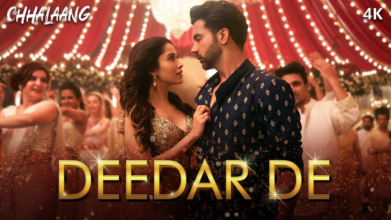 Deedar De (Chhalaang 2020) Hindi Video Song 1080p HDRip 38MB Download