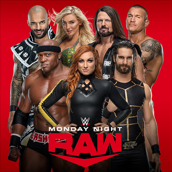 WWE Monday Night Raw (12th April 2021) English HDTV 400MB Download