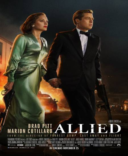 Allied 2016 Dual Audio Hindi ORG 480p BluRay 470MB ESubs Download