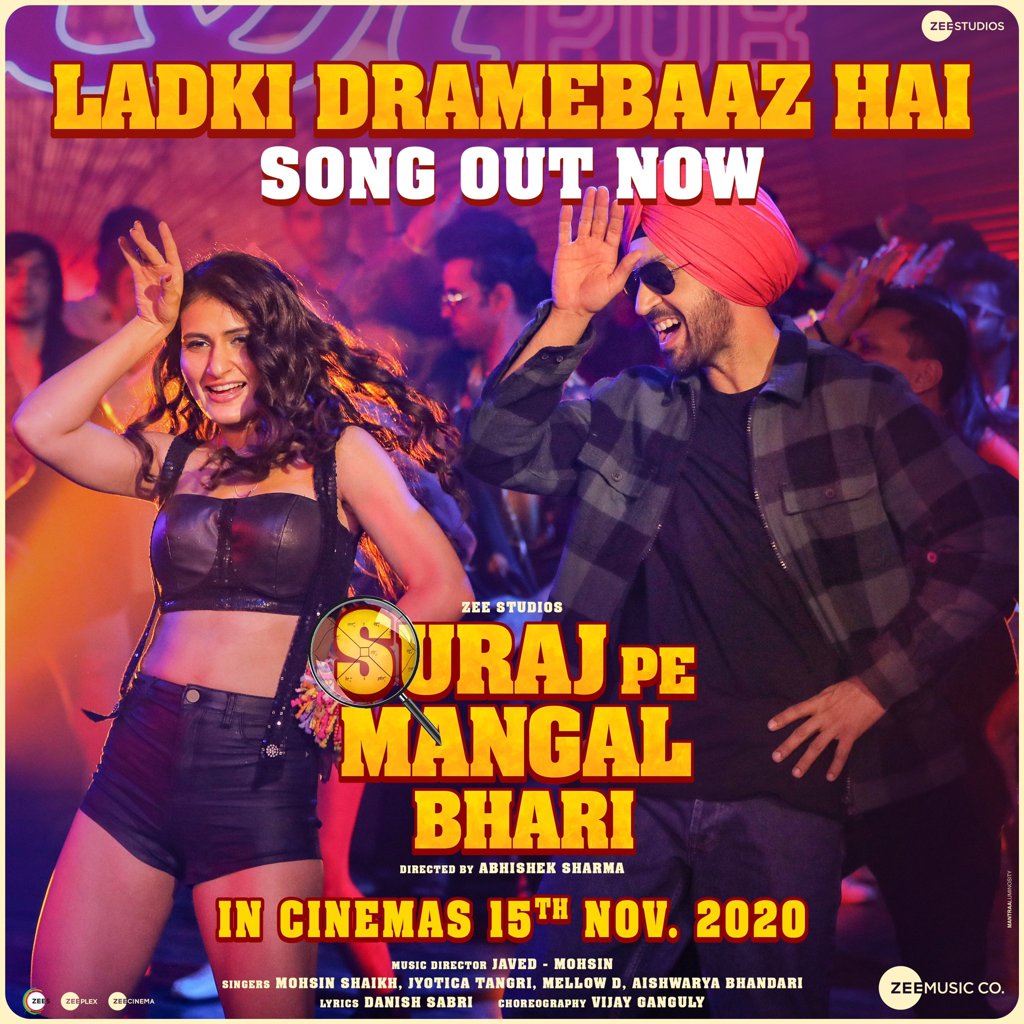 Ladki Dramebaaz Hai (Suraj Pe Mangal Bhari 2020) Hindi Video Song 1080p HDRip 83MB Download
