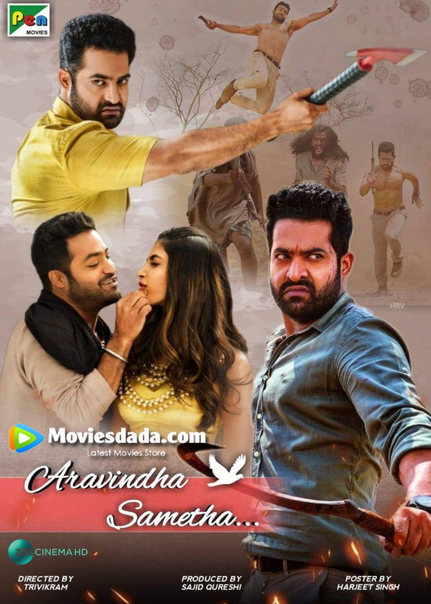 Aravinda Sametha (2020) Dual Audio Hindi UNCUT 720p HDRip 1.6GB Download