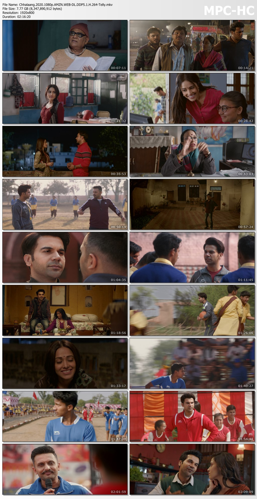 Chhalaang.2020.1080p.AMZN.WEB DL.DDP5.1.H.264 Telly.mkv thumbs