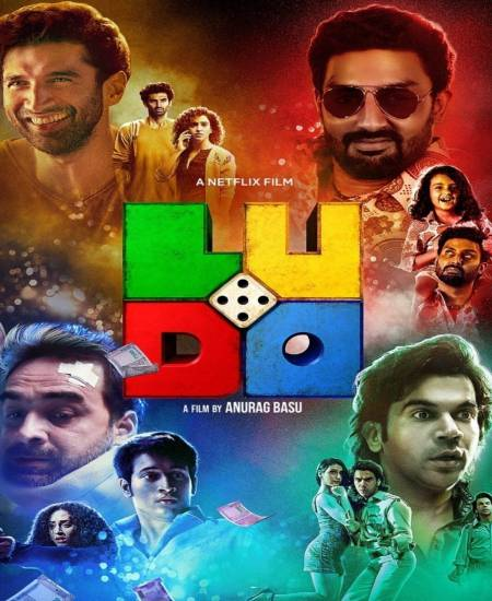 Ludo 2020 Hindi Movie 480p NF HDRip ESubs 470MB Download
