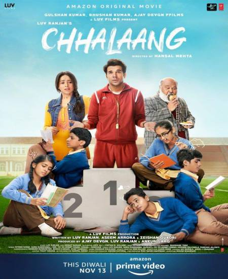 Chhalaang (2020) Hindi Movie 480p HDRip 450MB Download
