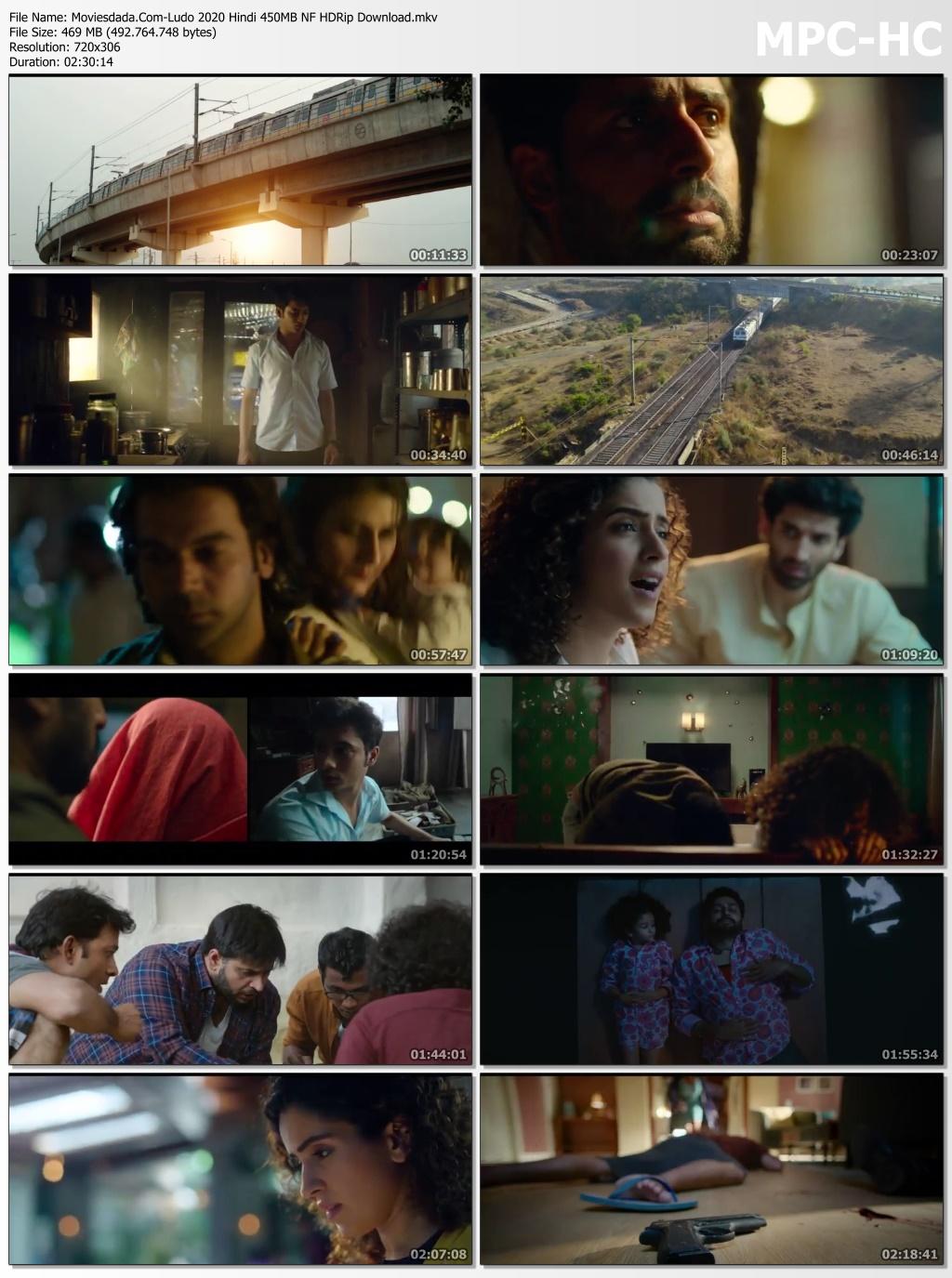 Moviesdada.Com Ludo 2020 Hindi 450MB NF HDRip Download.mkv thumbs