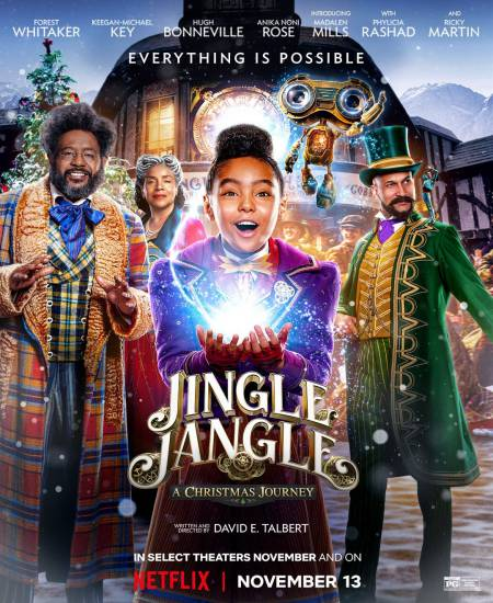 Jingle Jangle A Christmas Journey 2020 Dual Audio Hindi ORG 480p NF HDRip ESubs 400MB Download