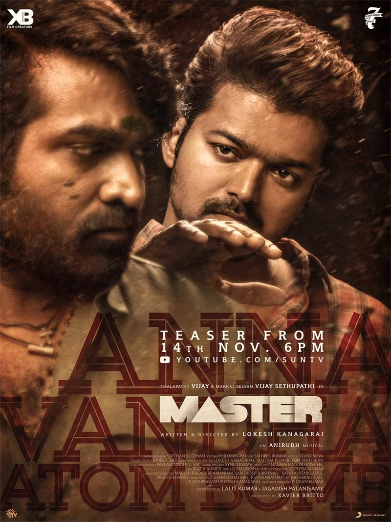 Master 2021 Tamil Official Teaser 1080p HDRip 50MB Download