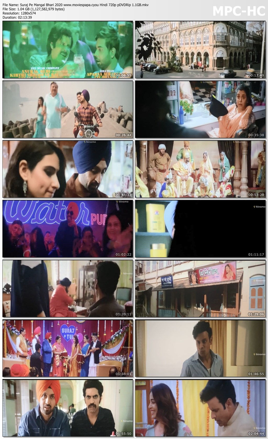 Suraj Pe Mangal Bhari 2020 screenshot HDMoviesFair