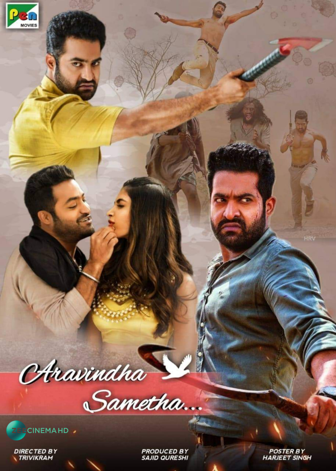 Aravinda Sametha 2020 Hindi Dubbed 720p HDRip 800MB Download