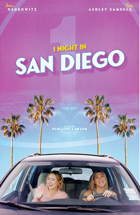 1 Night in San Diego 2020 English 720p HDRip 850MB Download