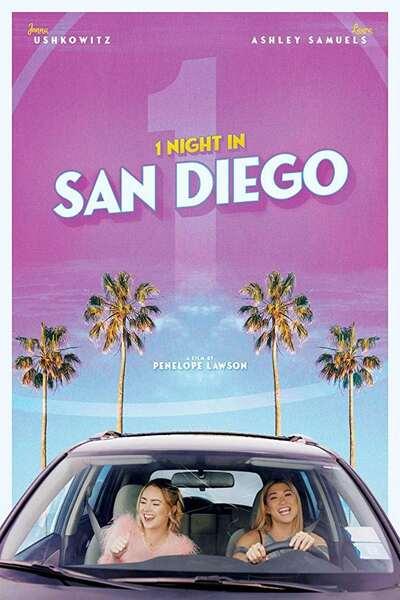 1 Night in San Diego (2020) English 480p HDRip ESubs 350MB Download