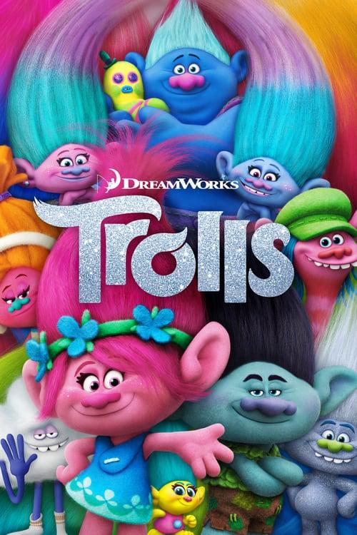 Trolls 2016 Dual Audio Hindi 300MB BluRay 480p ESubs Download
