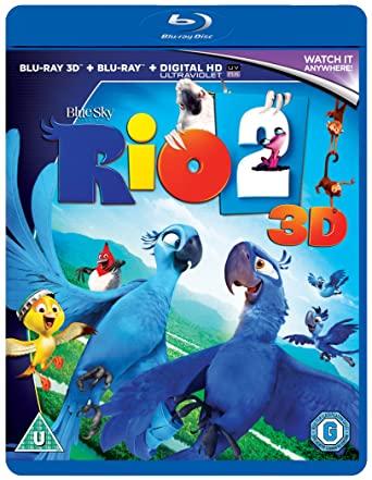 Rio 2 2014 Hindi Dual Audio 350MB BluRay Download