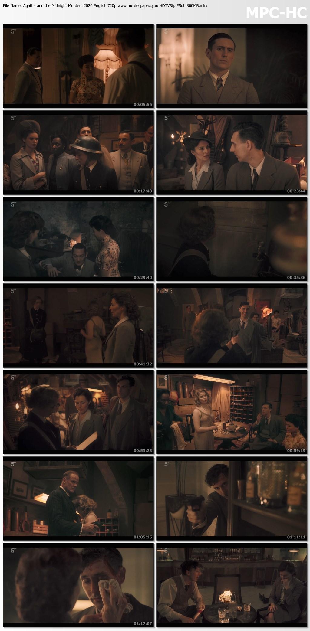 Agatha and the Midnight Murders 2020 screenshot HDMoviesFair