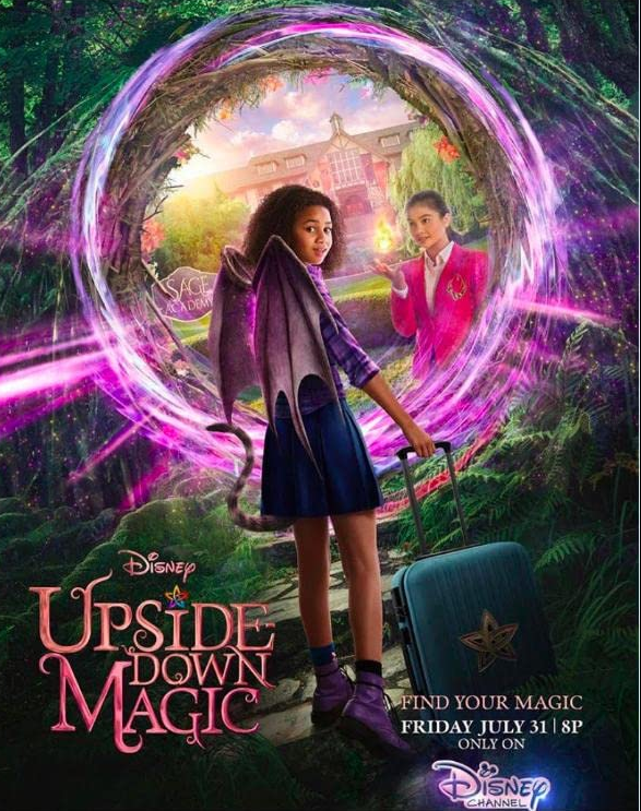 Upside Down Magic 2020 English 300MB HDRip 480p Download