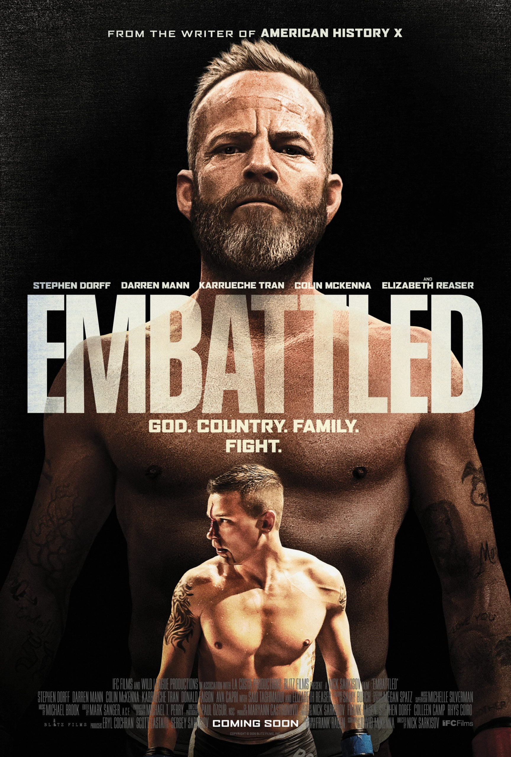 Embattled 2020 English 720p HDRip 796MB | 350MB Download