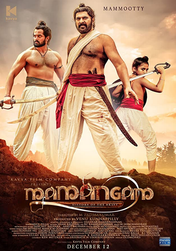 Mamangam 2020 Hindi Dubbed 490MB HDRip Download