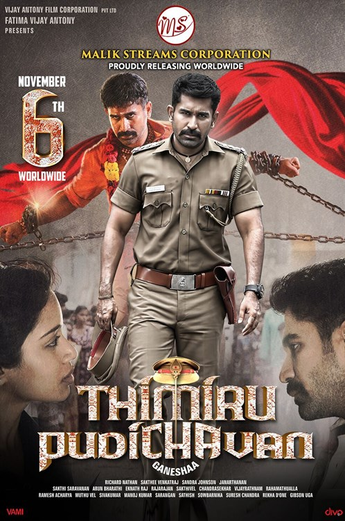 Thimiru Pudichavan (Police Power) 2018 Hindi Dual Audio 550MB UNCUT HDRip 480p ESubs Download