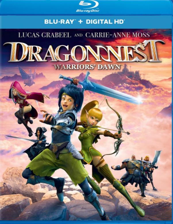 Dragon Nest Warrior's Dawn 2014 Hindi Dual Audio 480p BluRay 300MB Download