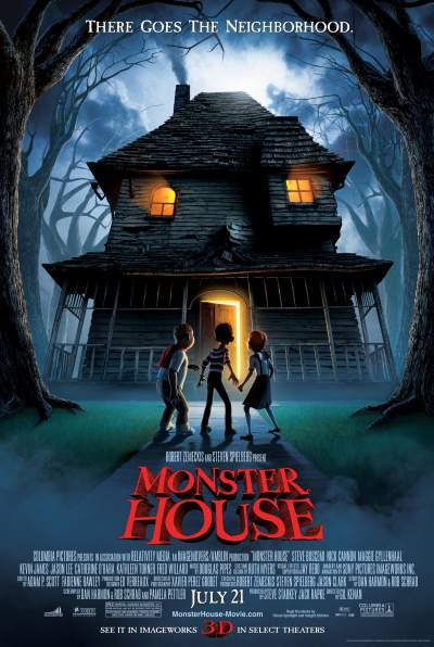 Monster House 2006 Hindi Dual Audio 300MB BluRay Download