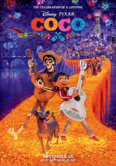 Coco 2017 Hindi Dual Audio 720p BluRay 800MB Download