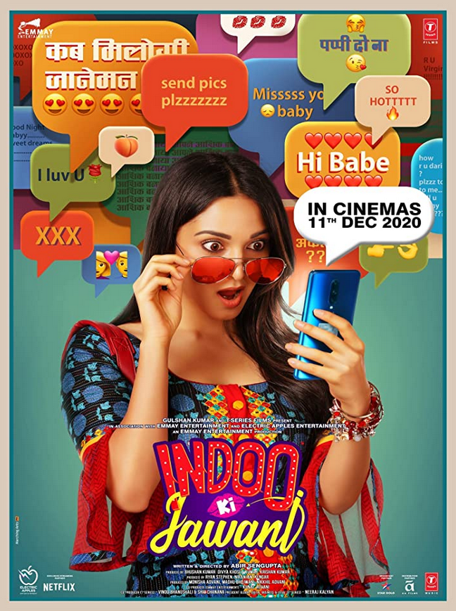 Indoo Ki Jawani 2020 Hindi Movie Official Trailer 1080p HDRip 60MB Download