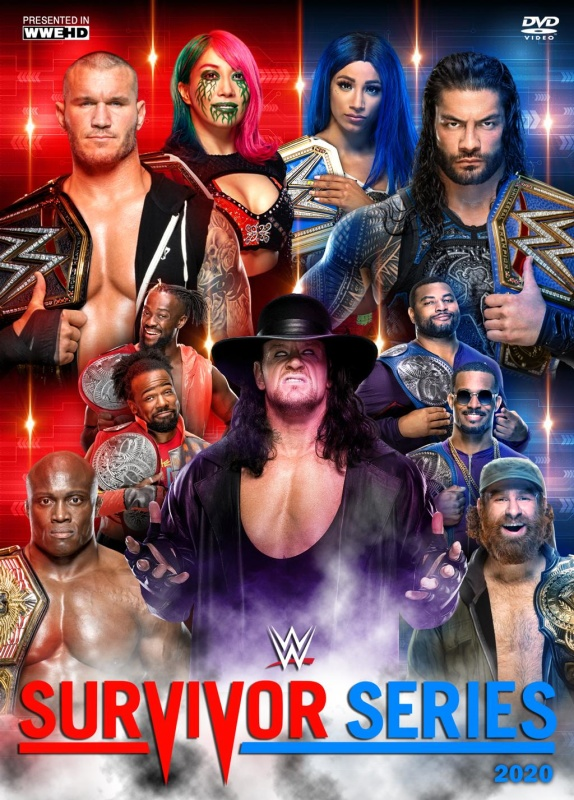 WWE Survivor Series 2020 English PPV 650MB HDRip Download