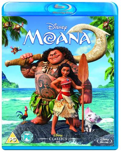 Moana 2016 Hindi Dual Audio 720p BluRay 800MB Download