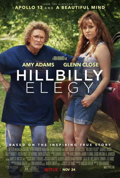 Hillbilly Elegy 2020 Hindi ORG Dual Audio 720p NF HDRip 800MB Download