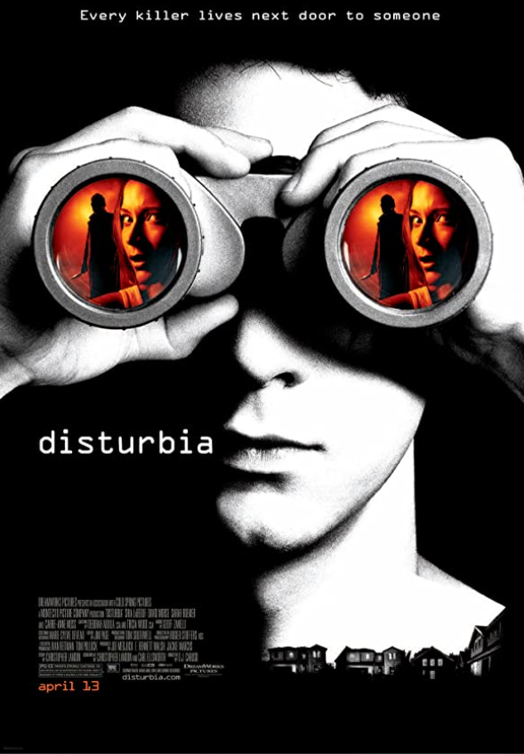 Disturbia 2007 Hindi Dual Audio 390MB BluRay ESubs Download