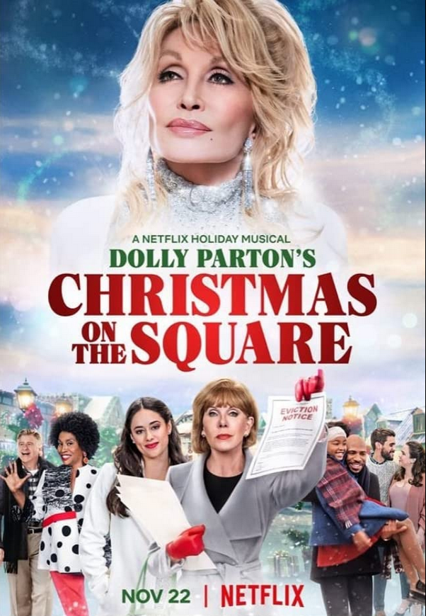 Dolly Parton's Christmas on the Square 2020 English 300MB NF HDRip Download