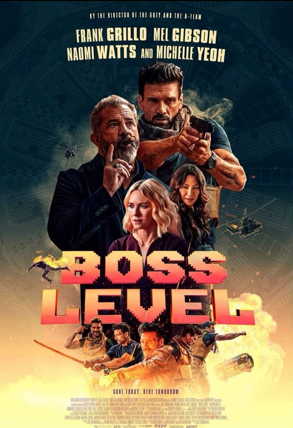 Boss Level 2020 English 320MB HDRip Download