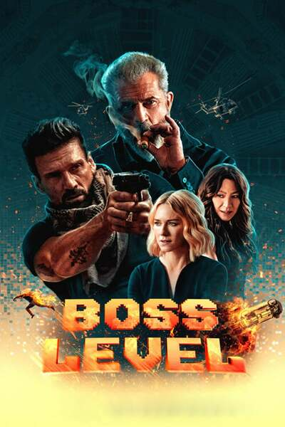 Boss Level (2020) English 480p HDRip 300MB Download