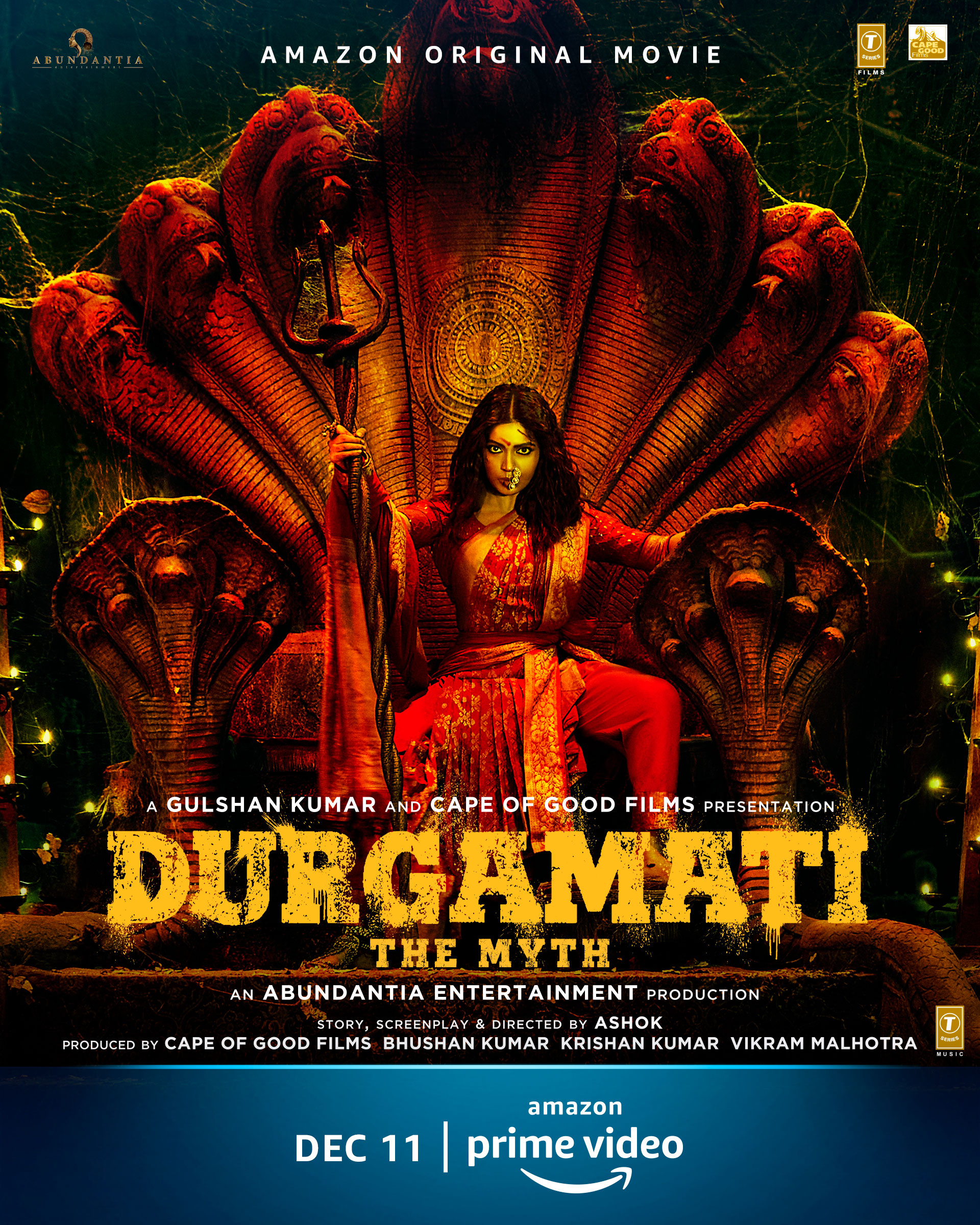 Durgamati The Myth 2020 Hindi Official Trailer 1080p HDRip 80MB Download