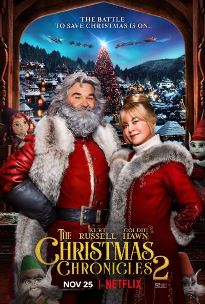 The Christmas Chronicles 2 (2020) Hindi ORG Dual Audio 720p NF HDRip 900MB Download