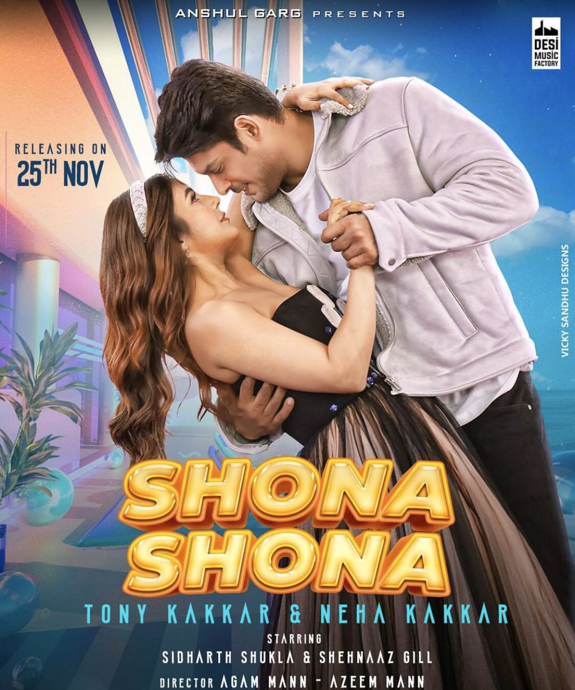 Shona Shona By Tony Kakkar & Neha Kakkar Hindi Full Music Video 1080p HDRip 83MB Download