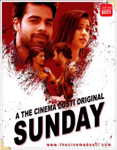 18+ Sunday 2020 CinemaDosti Originals Hindi Short Film 720p HDRip 180MB Download