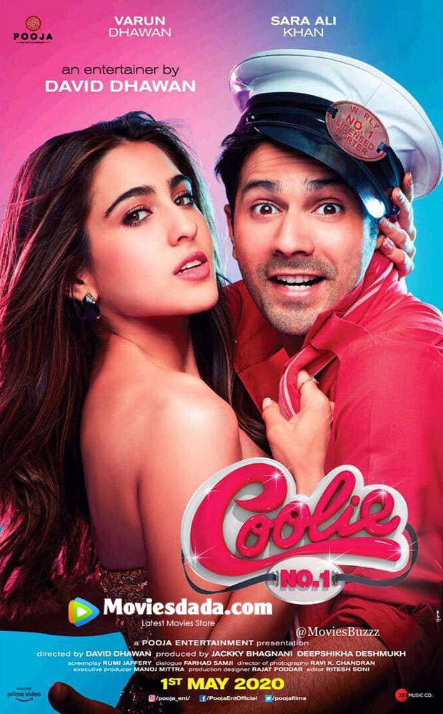 Coolie No. 1 (2020) Hindi Full Movie 720p HDRip 900MB Download