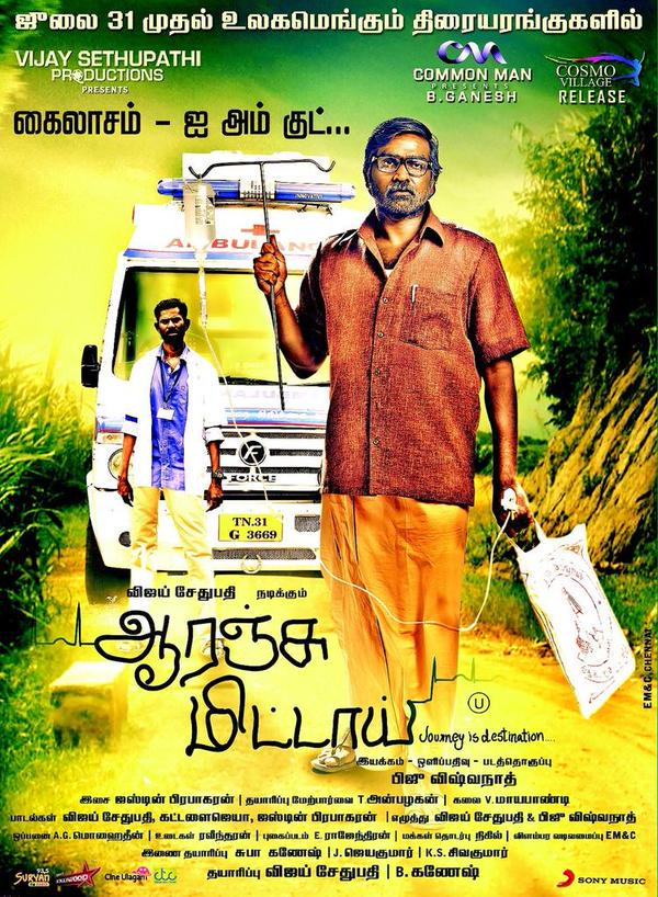 Orange Mittai 2015 Hindi Dual Audio 480p UNCUT HDRip 350MB x264 AAC