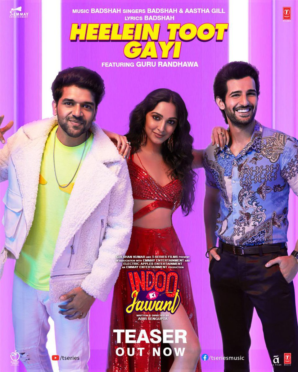 Heelein Toot Gayi (Indoo Ki Jawani 2020) Hindi Video Song 1080p HDRip Download