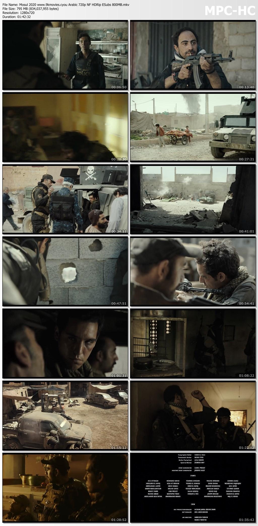 Mosul 2020 Arbic 720p Netflix HDRip ESub 795MB Download