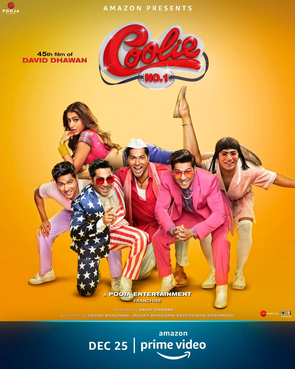 Coolie No. 1 2020 Hindi Full Movie AMZN HDRip 480p, 720p, 1080p ESubs Download