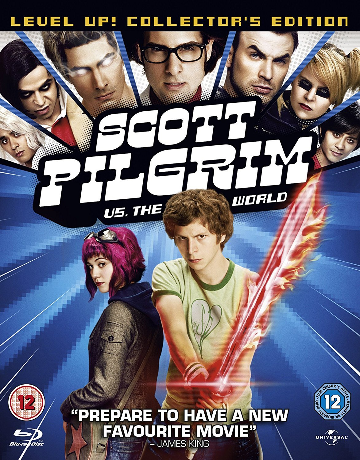 Scott Pilgrim vs. the World 2010 Hindi Dual Audio 400MB BluRay ESubs Download