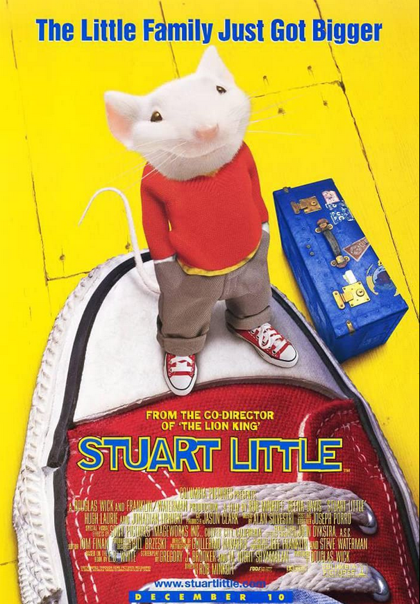 Stuart Little 1999 Dual Audio Hindi 300MB BluRay Download