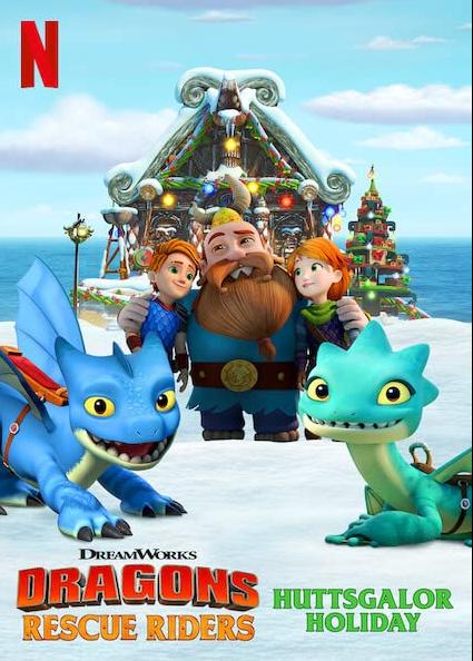 Dragons Rescue Riders Huttsgalor Holiday 2020 English 720p HDRip 400MB Download