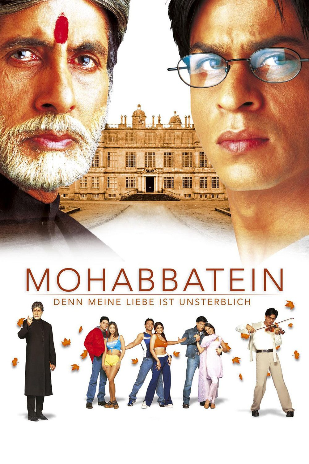 Mohabbatein 2000 Hindi 550MB BluRay Download