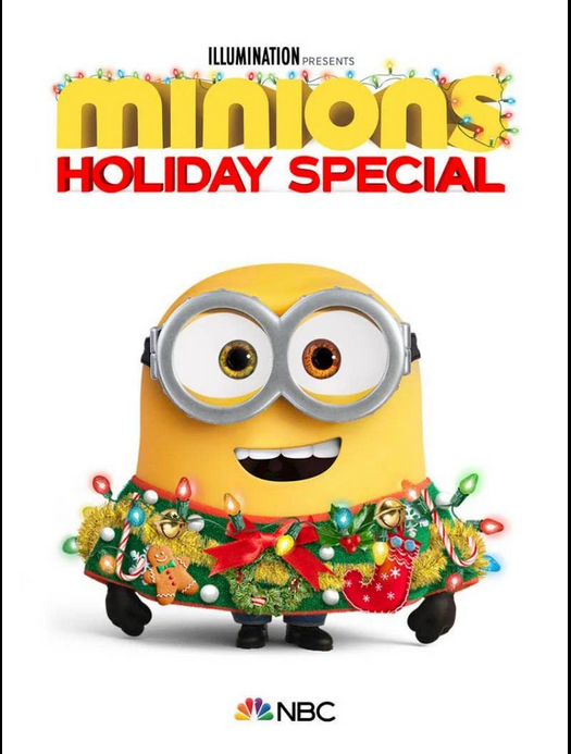 Minions Holiday Special (2020) English 1080p HDRip 380MB ESub Download