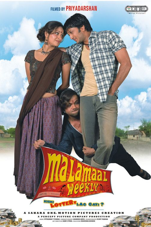 Malamaal Weekly 2006 Hindi 720p HDRip 1GB Download